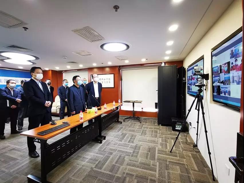 宋鑫、亚搏直播app官方网站调研子公司疫情防控和复工复产
