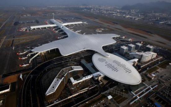 深圳宝安国际机场新航站楼工程