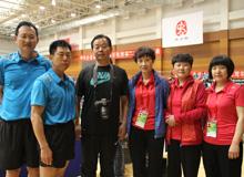 """战""""黄金"""" 克""""一汽"""" cmp冠军代表队显神威——央企乒乓球赛系列报道之一"""