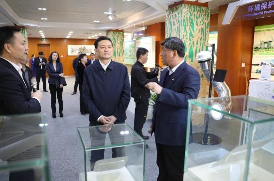 国务院国资委主任肖亚庆到cmp冠军cmp冠军调研