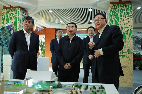 国务院国资委党委书记郝鹏到亚搏直播下载节能调研