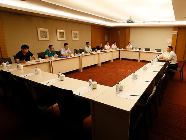 中环水务公司党委中心组进行集中研讨