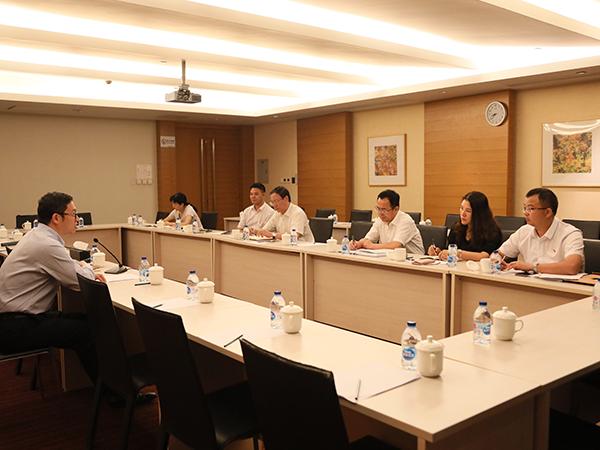 亚搏直播下载环保党委中心组进行集中研讨