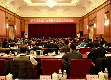 姜志刚出席地方国资委厂办大集体改革工作座谈会并讲话