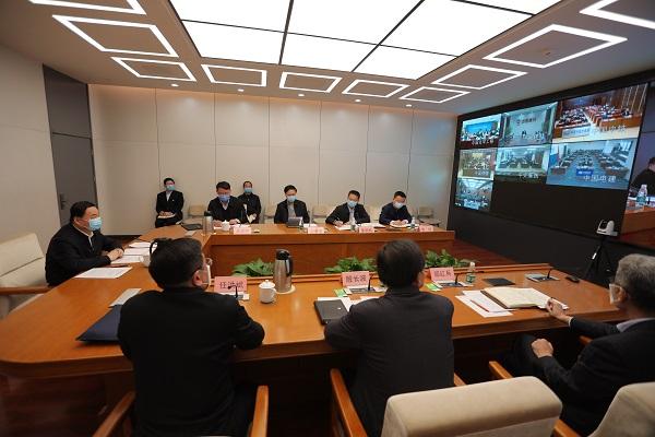 国资委召开建筑施工类中央企业复工复产工作视频会议 全力以赴抓好疫情防控 有力有序推动复工复产