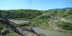 哈萨克斯坦玛依纳水电站