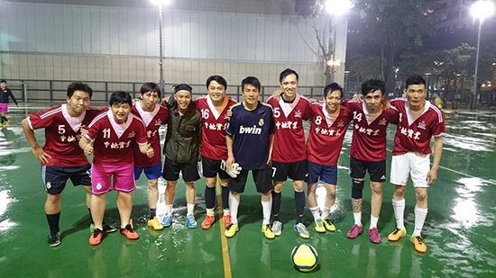 "The Hong Kong Branch won the ""Premier League for Construction Industry 2014/2015""."