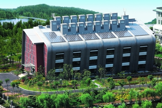 Green Building Science & Technology Museum in CECEP Hangzhou Energy & Environment Industrial Park