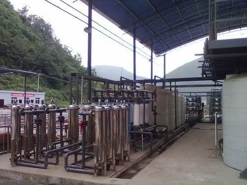 Manganese Control of Manganiferous Wastewater and Resource Recycling Project in Wuling, Sichuan
